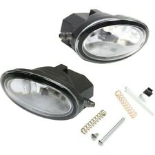 Set of 2 Clear Lens Fog Light For 98-07 Honda Accord LH & RH w/ Bulbs