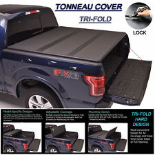 "Fits 2004-2013 FORD F150 Tri-Fold Solid Hard Tonneau Cover 6.5ft (78"") Short Bed"