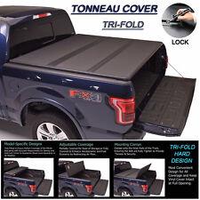1988-2000 GMC C10 C/K 1500/2500/3500 Tri-Fold Solid Hard Tonneau Cover 6.5ft Bed