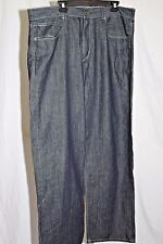 Sean John Garvey Dark Wash Loose Fit Men's Jeans Size 38 x 35