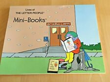 Lives of THE LETTER PEOPLE DECODABLE MINI-BOOKS 4-8 pages 1999 Mini-Books #1-54