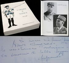 L'Armée à Nancy – 1633-1966 / ouvrage collectif dédicacé / Berger-Levrault 1967