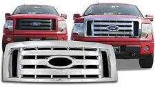 Chrome Grille OVERLAY fits 2009 2010 2011 2012 Ford F150 (XL / STX)