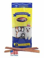 25 Pack 12 Inch Thin Bully Sticks For Dogs by Shadow River - Product of the USA