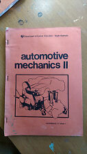 AUTOMOTIVE MECHANICS 2-assignments 1-4 book 1 dept of further education s.a.