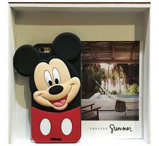 Cute 3d Cartoon Mouse Dot Soft Silicone Rubber Case Cover for iPhone & Samsung for iPhone 5 5s Mickey 2