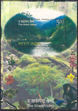 INDIA 2009 Silent Valley Butterfly Monkey Tree Nature Flora fauna Mountain MS