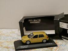 MINICHAMPS VW GOLF 1997 GOLD ART.430056008  NEW 1:43