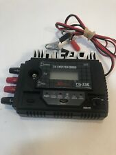 Hitec CG335 12 Volt Multi Peak Charger LCD 4-24 Cell NiCd and Ni-MH Type TESTED