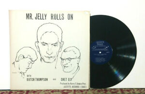 Butch Thompson, Chet Ely – Mr. Jelly Rolls On - LP 1967 Traditional Jazz - NM