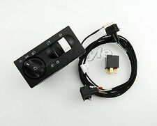 Adapter cable harness for Fog Lights VW Golf MK3 T4 + Relay + switch headlights