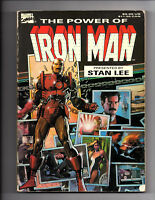 THE POWER OF IRON MAN TPB FIRST PRINT OOP STAN LEE MARVEL EARLY TPB 1989