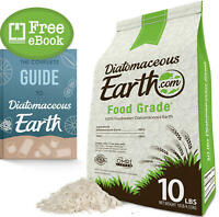 10 LBS Diatomaceous Earth - 100% Organic Food Grade Diamateous Earth Powder