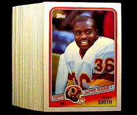 1988 Topps TIMMY SMITH (RC) ~ 50 CARD LOT ~  WASHINGTON REDSKINS STAR RB