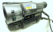 Camescope - Caméra SONY CCD-TR511E PAL Vidéo 8 + k7 Hi8 très bon état comme neuf