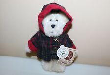 Boyds Bears Jean T. Bearsley Plaid Hooded Coat w/Original Tag #919810