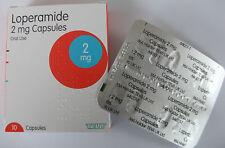 Loperamide (Immodium Equiv) 10pk 2mg Diarrhoea Relief *Free postage*