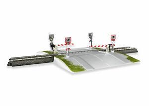 Märklin H0 74923 Fully Automatic Railroad Crossing without Original Box