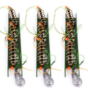 3x Fertigangel Posenmontage Pose Blei fertig montiert Karpfen Karausche 15g NEU