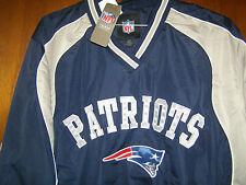 NFL New England Patriots Football Apparel Slotback Pullover Large Unisex Adult L