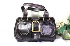 CELINE Brown Leather Doctor Dr. Hand Bag Handbag Italy