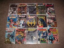MASSIVE LOT OF 80 BATMAN (VOL. 1, 2, 3) COMICS! INSTANT DC COLLECTION VF/NM