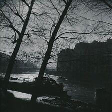 PARIS c. 1955 - Péniche sur la Seine - DIV 9595