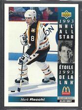 1993-94 Upper Deck McDonald's NHL All Stars - #22 - Mark Recchi - Flyers