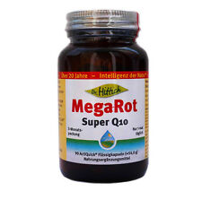 Dr. Hittich MegaRot Super Q10, 100 mg Ubiquinol, Krillöl, Mega-Rot, 90 Kaps.