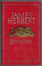 Sepulchre by James Herbert Signed 1st Edition- High Grade
