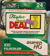 Fujicolor 110 Super HR 100 Color Print Film 24 Exposures Unopened Expired