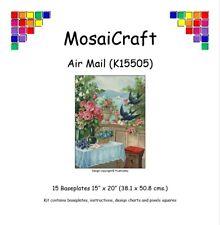 MosaiCraft Pixel Craft Mosaic Kit 'Air Mail' Seaview Pixelhobby