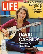 David Cassidy Partridge Family H RAP BROWN - 29 October 1971 Life Magazine