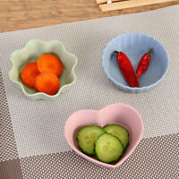 Wheat straw 3 shapes small plate food snack dish sauce plate kitchen tool cute H