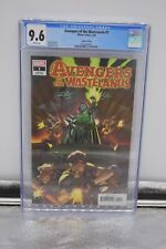 Avengers of the Wastelands #1 9.6 CGC 1:50 Will Sliney Variant Marvel 2020