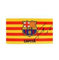 Lionel Messi Official Signed FC Barcelona Branded Captain's Armband