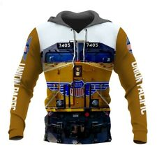 Union Pacific 3D Printed Casual Unisex Hoodie