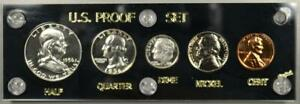 Uncommonly Nice 1956 U.S. Proof Set Blazing Like It Just Came From The U.S. Mint
