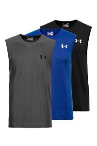 Brand New Under Armour Men UA Tech Sleeveless Tee T-Shirt Top XL 2XL