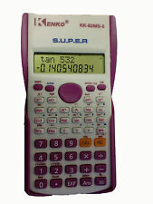 KENKO PINK SCIENTIFIC CALCULATOR FOR UNIVERSITY, COLLEGE OR OFFICE NEW