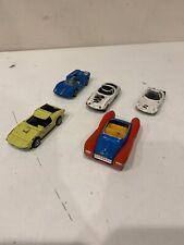 LOT OF 5 Politoys E21 Opel Cd , Aston Martin 565 BRE SAMURAI 580 DISNEY 600