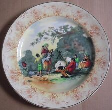 Royal Doulton Collectors Plate D4984 Circa 1931 THE GYPSIES ENGLISH OLD SCENES