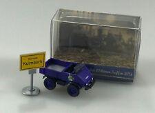 Wiking 1:87 h0, Unimog 411, Pick-up/bâche Kulmbacher Mönchshof, modèle spécial