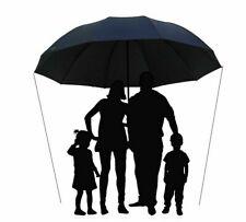 152CM Large Family Umbrella Rain Protection Windproof Big Folding Umbrellas New