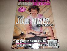 MODERN DRUMMER MAGAZINE-NERVE'S JOJO MAYER MAY 2015-EUC