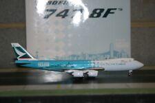 "Phoenix 1:400 Cathay Pacific Boeing 747-8F B-LJA ""Hong Kong Trader"" Model Plane"