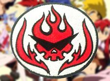 Tengen Toppa Gurren Lagann Team Dai Brigade Skull Embroidery Iron-on Patch/Badge