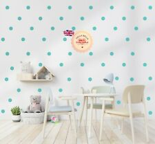 204x Polka Dot Wall Sticker Set Circles Dots 3cm in15 Different Colours
