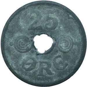 Coin / Denmark / 25 ORE /1945   #W19816
