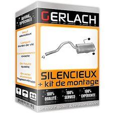 Pour Renault Espace III 1.9 dTi 2.0 2.2 TD dT echappement silencieux *304